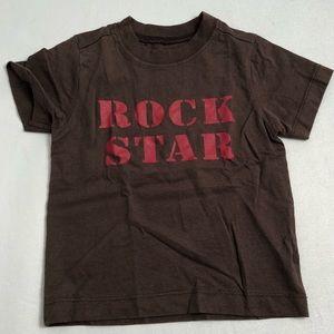 Crazy 8 brown/red Rockstar short sleeve t-shirt